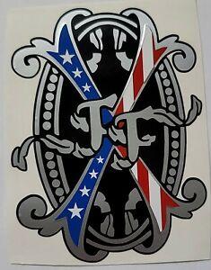 """Arturo Fuente / Fuente Fuente Opus X American Flag cigar decal 3.5"""""""