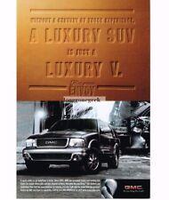 1998 GMC ENVOY Luxury SUV Vtg Print Ad