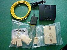 Siemens Speedstream 4200 ADSL Modem Frontier Network Cable 4 Line Filter Wall Pt