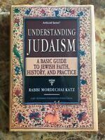 UNDERSTANDING JUDAISM By Artscroll Mesorah **Like New**