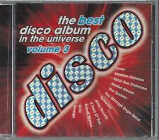 BEST DISCO ALBUM VOLUME 3 Voyage Fever Sylvester 2 Tons O' Fun RARE OOP NEW CD