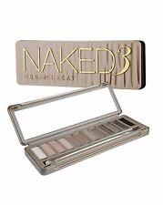 Urban Decay Naked 3 12 Eyeshadow Palette+Brush Full Sz 100% Authentic NIBox2 $54