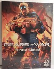 Epic Games GEARS OF WAR Video Game The Poster Collection Book 40 Posters SEALED
