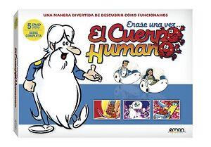ERASE UNA VEZ EL CUERPO HUMANO SERIE COMPLETA DVD NUEVO ( SIN ABRIR ) //