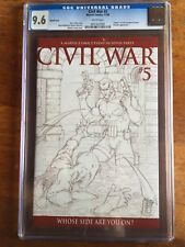 Civil War #5 CGC 9.6 Michael Turner Variant. Marvel Comics