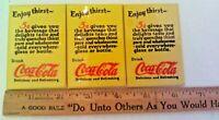 Vintage Enjoy Thirst Drink Coca Cola Delicious and Refreshing Pocket Mirror