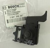 2607200367 Switch - Interruptor  PKS 38/40 GHO 31/36 PHO 15/25/35: Genuine BOSCH