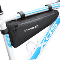 NEWBOLER Bicycle Triangle Bag Bike Frame Front Tube Bag Pannier Bag Waterproof