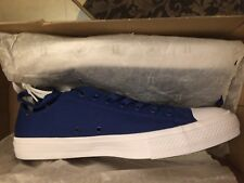 Converse Chuck Taylor All Star II 2 Blue Low LUNARLON Shoes 150152C Size11