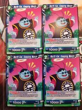 North Kai, Keeping Watch 4x BT5-041 C Dragon Ball Super PLAYSET