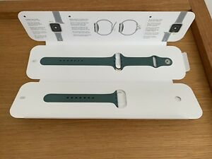 Genuine Apple Watch Sport Band 44mm /42mm - Pine Green