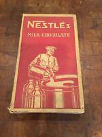 Vintage Nestles Chocolate Candy Box