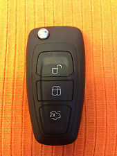 FORD GALAXY MONDEO FOCUS C-MAX S-MAX ID83 80Bit KEY FOB REMOTE CUT AND CODED