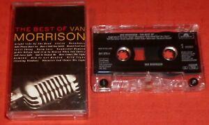 VAN MORRISON - UK CHROME CASSETTE TAPE - THE BEST OF (GREATEST HITS)