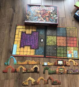 Vintage Dark world Fantasy Board Game - Not Complete - Waddingtons