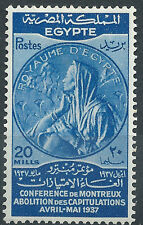 g115) Egypt. 1937. MM. SG.264. Abolition of Capitulation of Montreaux Conference