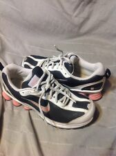 Womens Girls Black Glitter Sparkle Nike Shox Turmoil Premuim Shoes Sz 7 Y