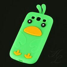 Samsung Galaxy S3 NEO i9300 Silikon Handy Case Schutz Hülle Etui Chicken Grün