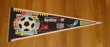 1994 World Cup pennant soccer Brazil's 4th title