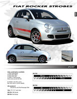 GRAPHIC Kit Decals Emblems Trim 1753 or 1754 For: FIAT 500 2012-2019