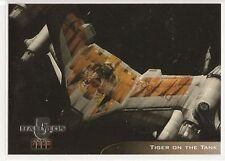 Babylon 5 Season 4 Trading Cards Starfury Aviation Art Chase Card V3 Tiger Tank