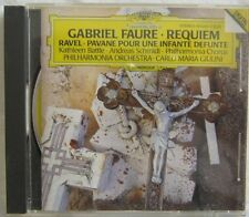 Faure Requiem Battle Schmidt Philharmonia Chorus Giulini DG 419-243-2 IMPORT