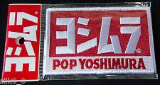 ECUSSON Brodé - PATCH - POP YOSHIMURA / 100x60mm / Embrodery / EMBLEM / ORIGINAL