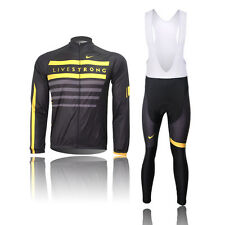 A+++HOT Style Cycling Jersey Trouser Bib Long Pants Long Sets Bicycle Wear Suit