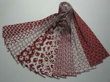 """Jelly Roll-Red & White-20-2-1/2"""" X 42"""" By Choice Fabrics"""