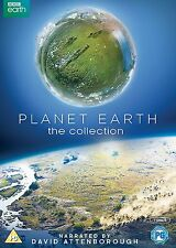 David Attenborough Planet Earth 1 + 2 Complete BBC Series I + II DVD Box Set R4