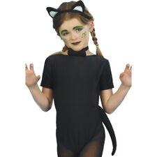 Cat Pet Instant Set Child With Ears Tail & Bowtie Fancy Dress Accessory