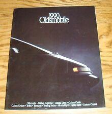 Original 1990 Oldsmobile Full Line Sales Brochure 90 Ninety Eight Toronado