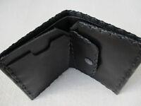 Handmade Leather Wallet - Black