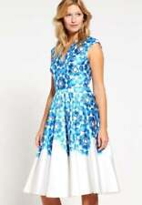 Polyester A-Line Dresses for Women with Cap Sleeve