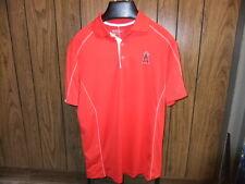 LA Angels Nike Golf Shirt Dri Fit medium NWT red Los Angeles short sleeve new
