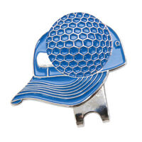 Golf Hat Clip with Magnetic Golf Ball Marker Golf Cap Collar for Golf Lover