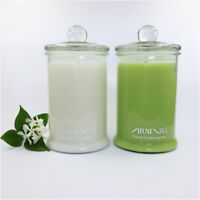 HIGHLY SCENTED 100% SOY WAX CANDLE 110 hour burn NATURAL FRAGRANCED CANDLES gift