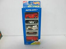 Hot Wheels 5 Pack Gift Set Auto City with Fire & Police 379