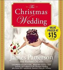 THE CHRISTMAS WEDDING by JAMES PATTERSON AND RICHARD DILALLO UNABRIDGED CD'S