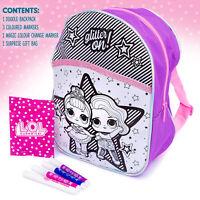 L.O.L.Surprise ! LOL Colour Your Own Doodle Backpack Rucksack Girls Kids Gift
