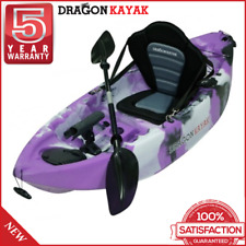 Kids Fishing Kayaks Baby Dragon Kayak - Purple Camo