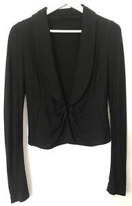 METALICUS Soft Tailoring Black Jacket Size 1 Women's