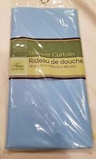 NEW HOME COLLECTION SHOWER CURTAIN 70X72 INCHES BLUE RIDEAU DOUCHE FREE SHIPPING