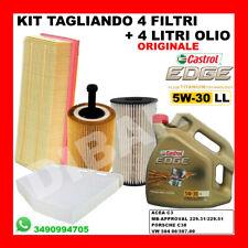 KIT TAGLIANDO+4LT CASTROL 5W30 LL VW JETTA-PASSAT 1.9 2.0 TDI DA 2005 211