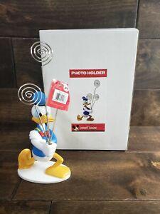 Walt Disney Donald Duck Photo Holder New Open Box Free Shipping Intercraft