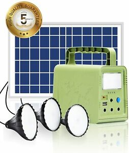 Solar Panel Portable Power Station 84Wh  ,Lights for Home Travel Fishing Hunting