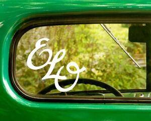 2 ELO ELECTRIC LIGHT ORCHESTRA DECALs Stickers Bogo For Car Truck Window Bumper