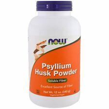 Now Foods Psyllium Husk Powder 12 oz 340 g GMP Quality Assured, Kosher, Vegan,