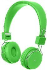 KitSound Manhattan Bluetooth Over-ear Headphones With Mic Green
