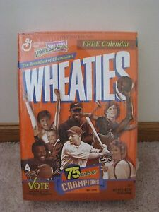 75 Years of Champions Wheaties Box